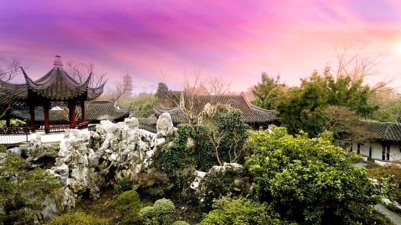 Rei chinês do jardim imagem de stock