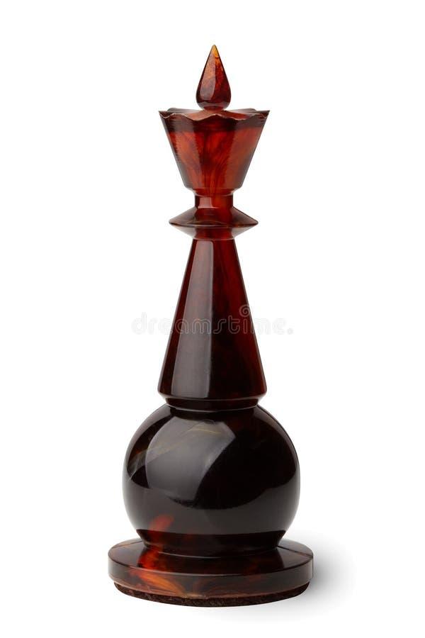 Rei da xadrez. imagens de stock royalty free