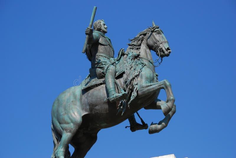 Rei de Philip IV de Spain fotografia de stock