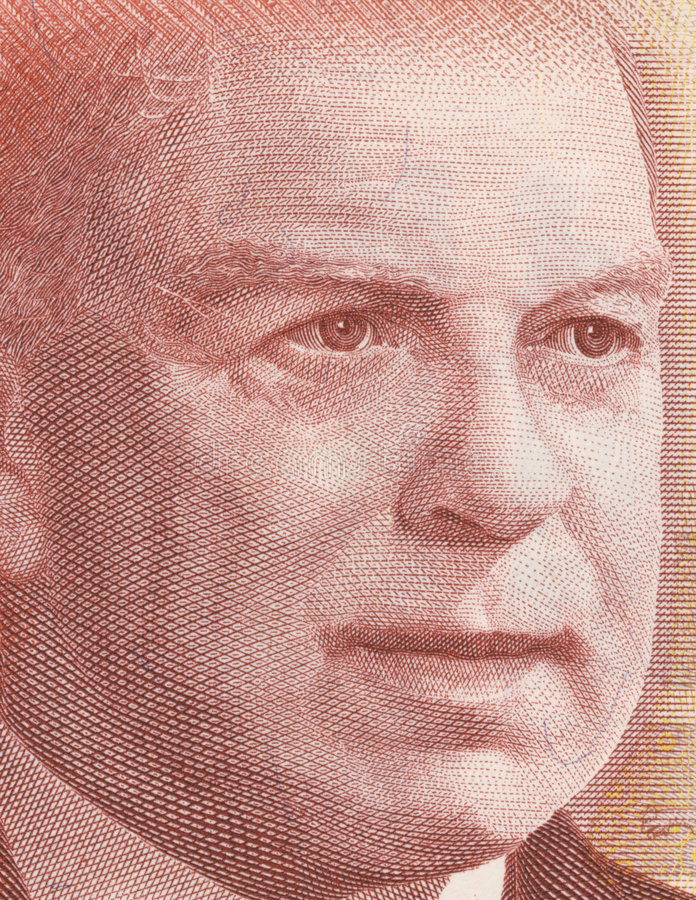 Rei de William Lyon Mackenzie imagens de stock royalty free