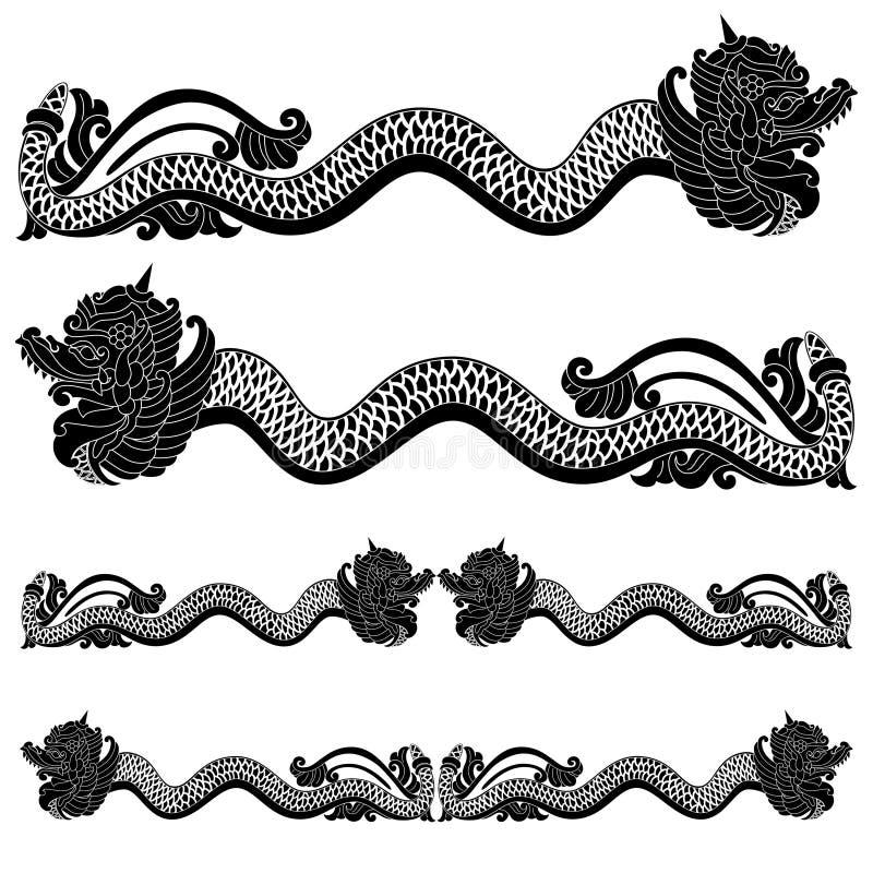 Rei do dragão ilustração stock
