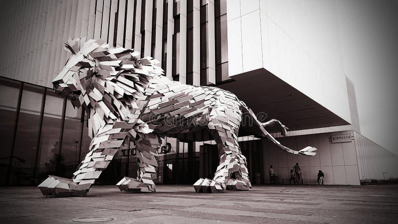 Rei do leão foto de stock royalty free