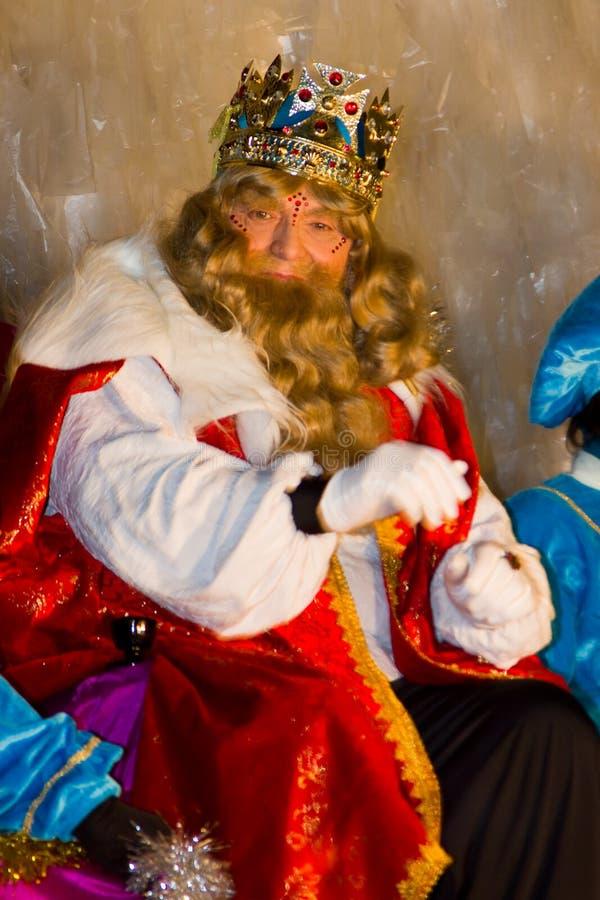 Rei dos Magi de Gaspar fotos de stock royalty free