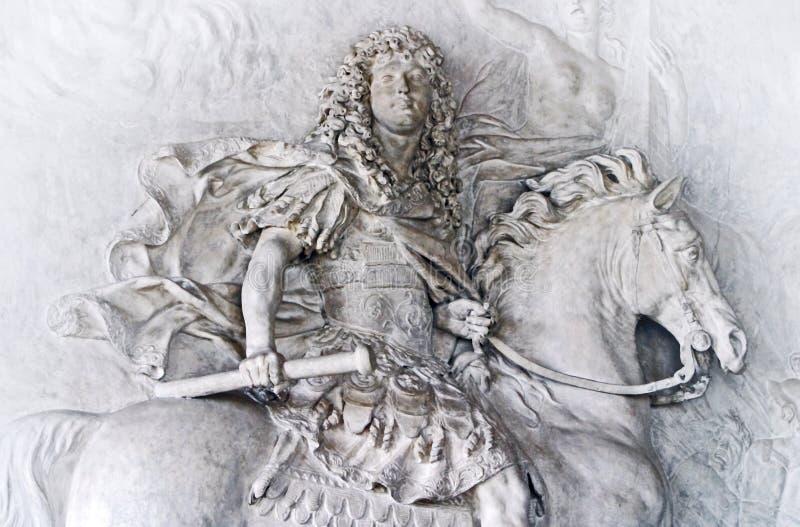 Rei Louis XIV imagens de stock