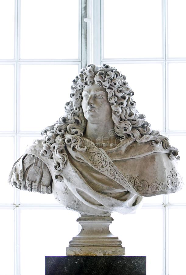 Rei Louis XIV imagem de stock royalty free