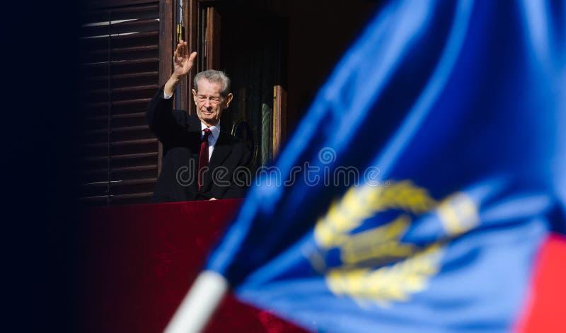 Rei Mihai Eu de Romênia foto de stock royalty free