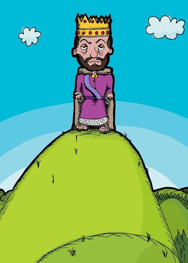 Rei Monte ilustração stock