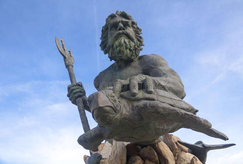 Rei Netuno imagem de stock royalty free