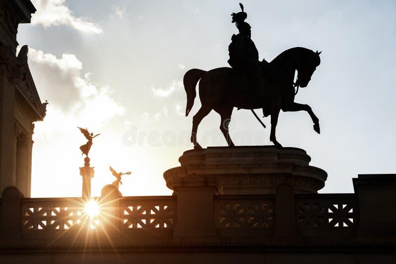Rei no março à vitória e à glória fotografia de stock