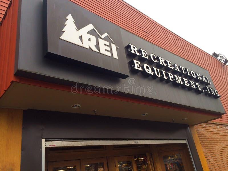 REI Storefront Eugene, OU imagem de stock royalty free