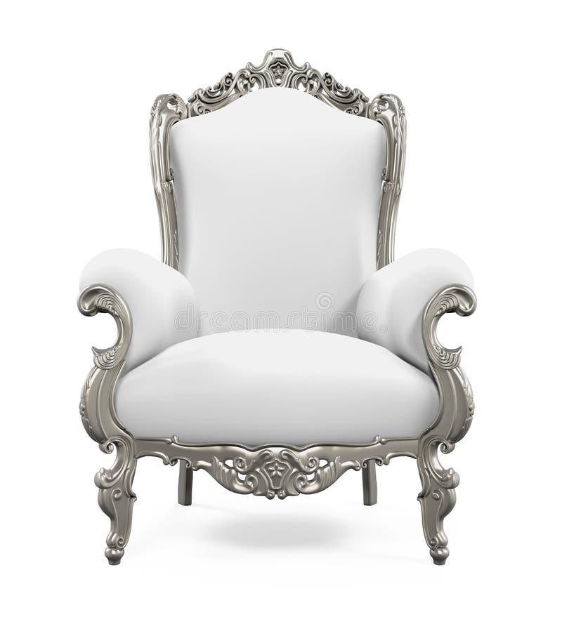 Rei Throne Chair ilustração stock