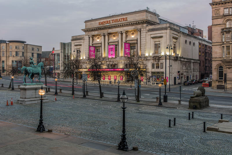 Reich-Theater, Liverpool, England stockfoto