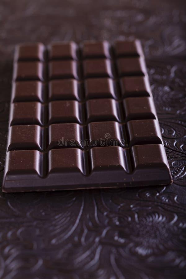 Reiche dunkle Schokolade lizenzfreie stockbilder