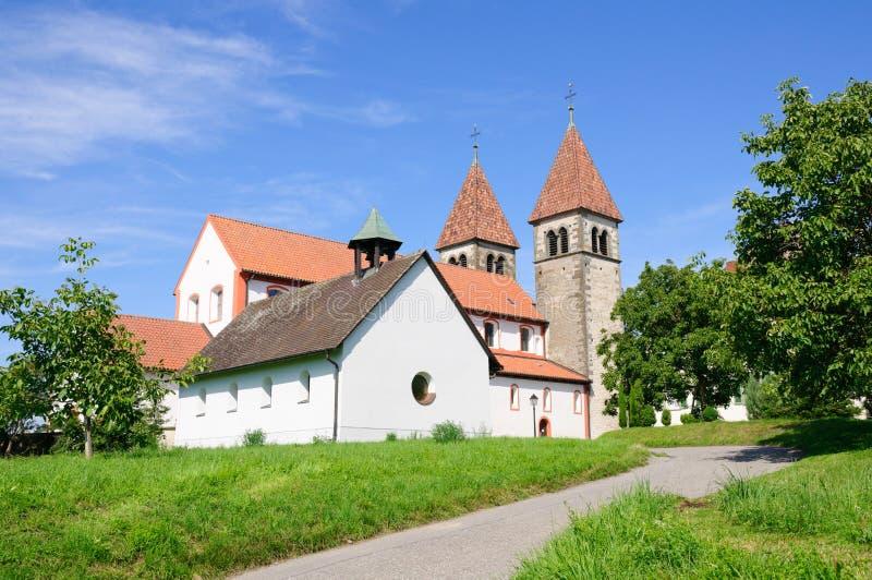 Reichenau, Deutschland lizenzfreies stockfoto