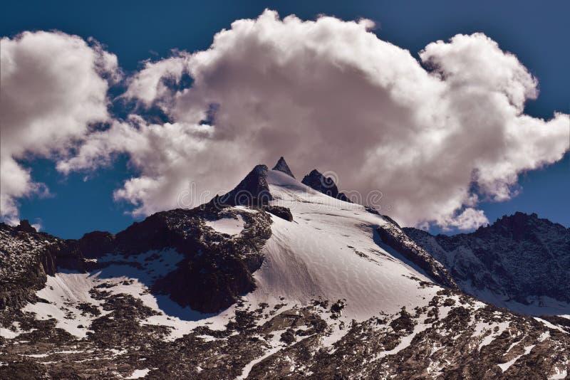 Reichenbachspitze lodowiec obraz stock