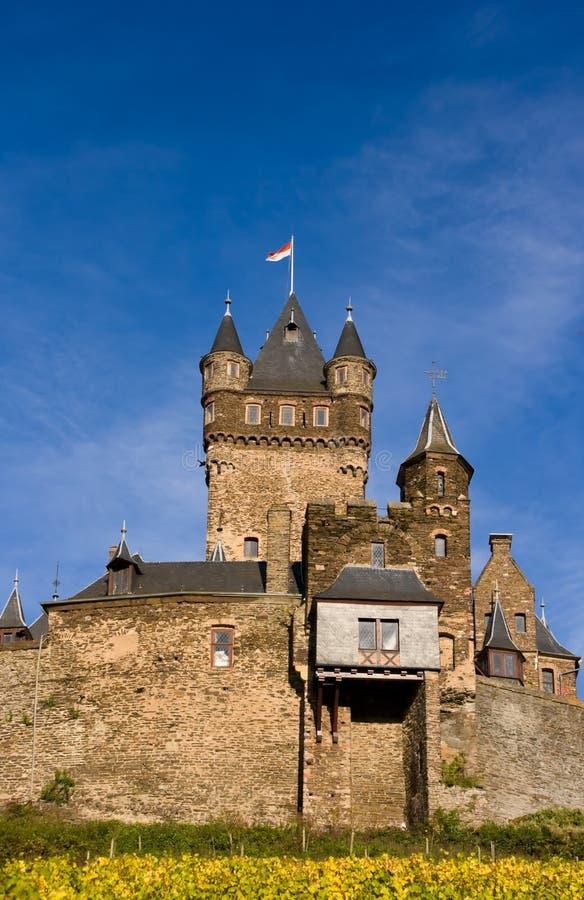 Reichsburg Castle in Cochem stock photography
