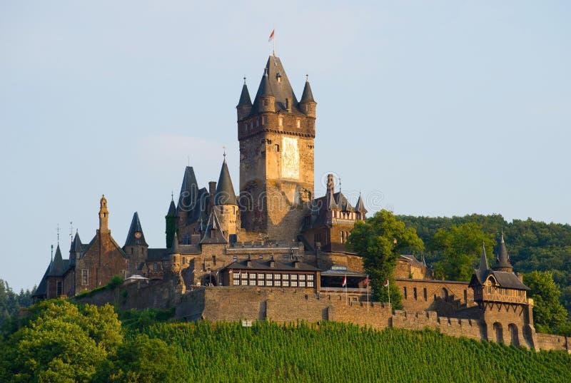 Reichsburg Cochem Château européen historique - Cochem, Allemagne photographie stock
