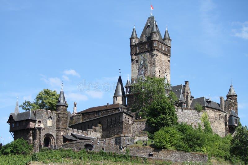 Reichsburg kasztel Cochem fotografia royalty free