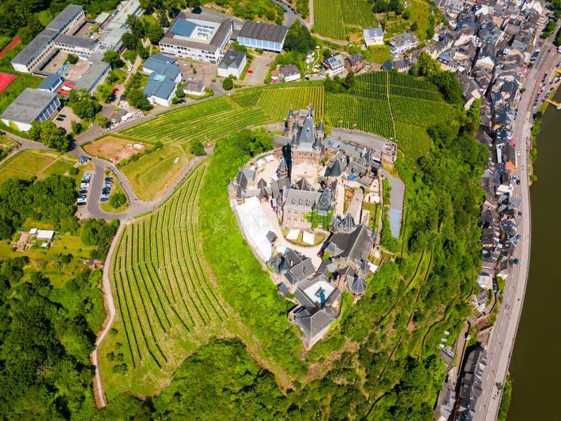 Reichsburg kasztel w Cochem, Niemcy obrazy stock