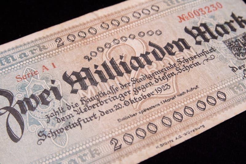 Reichsmark imagen de archivo libre de regalías