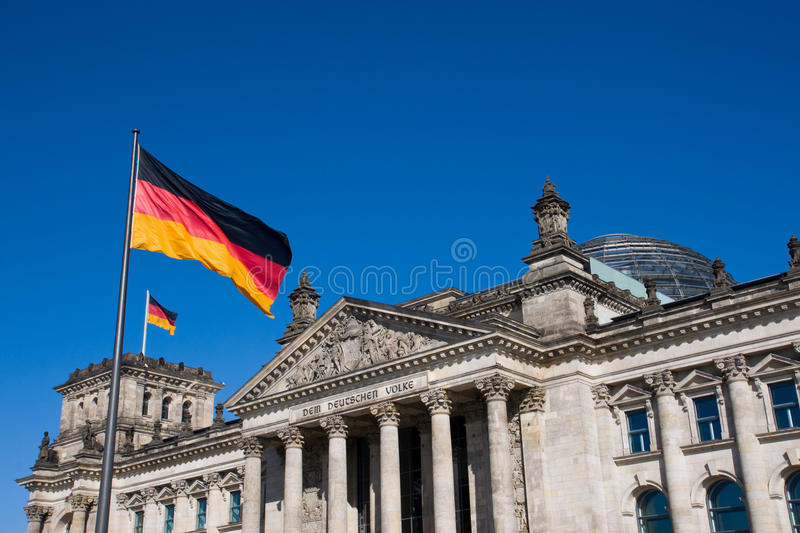 Reichstag à Berlin images stock