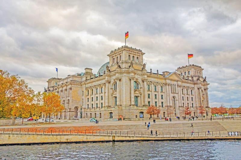 Reichstag, Βερολίνο, ύφος HDR στοκ εικόνα