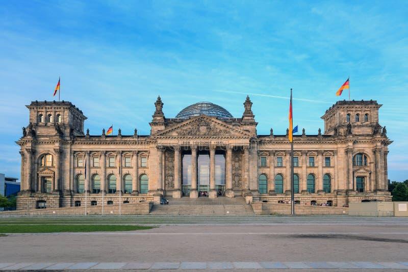Reichstag στο Βερολίνο Γερμανία στοκ εικόνα