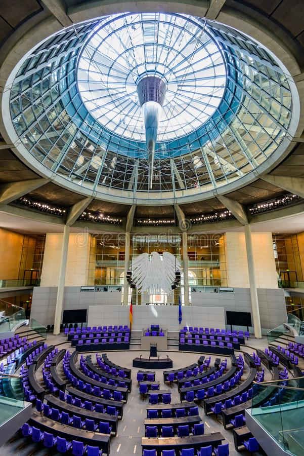 Reichstag Берлин стоковое фото rf