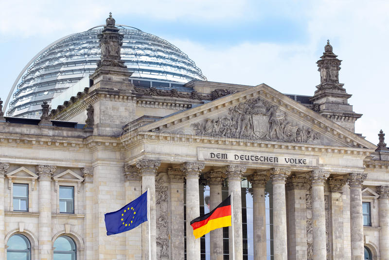 Reichstag, Берлин стоковые фото