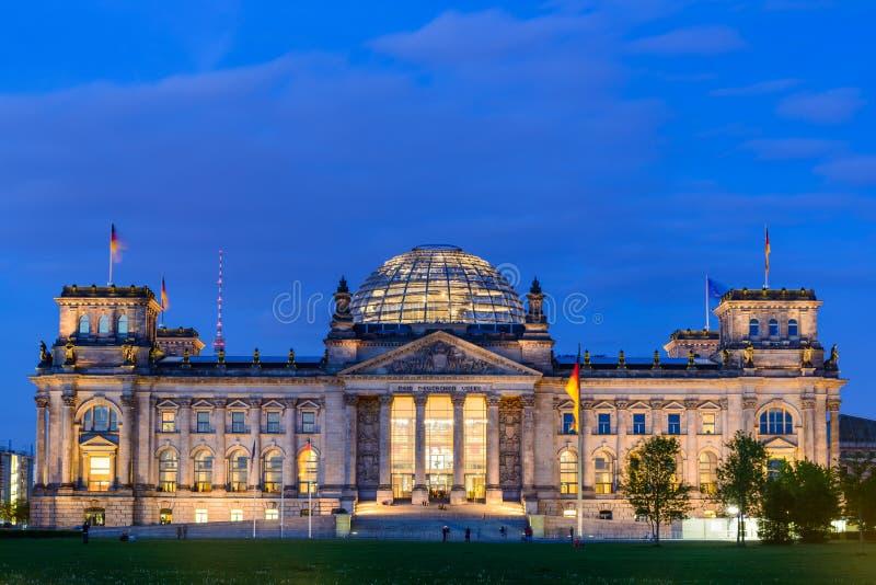 Reichstag в Берлине стоковое фото rf