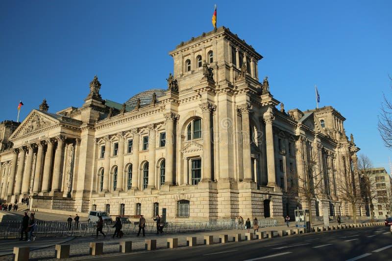 reichstag Германии здания berlin стоковое фото rf