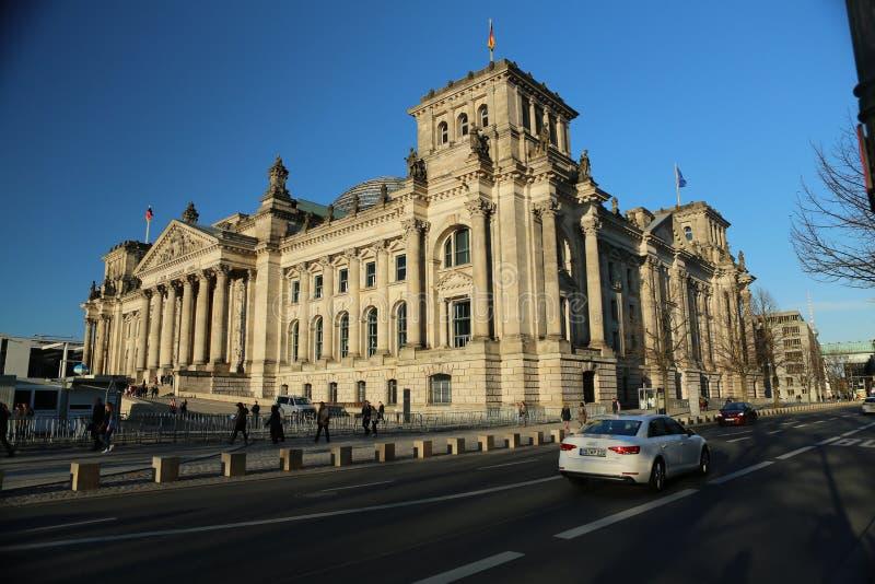 reichstag Германии здания berlin стоковое фото