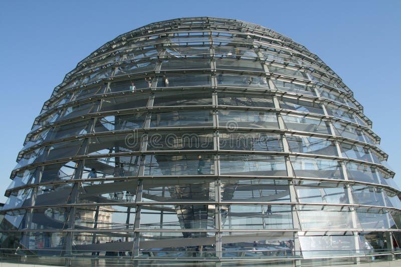 reichstag купола стоковая фотография rf