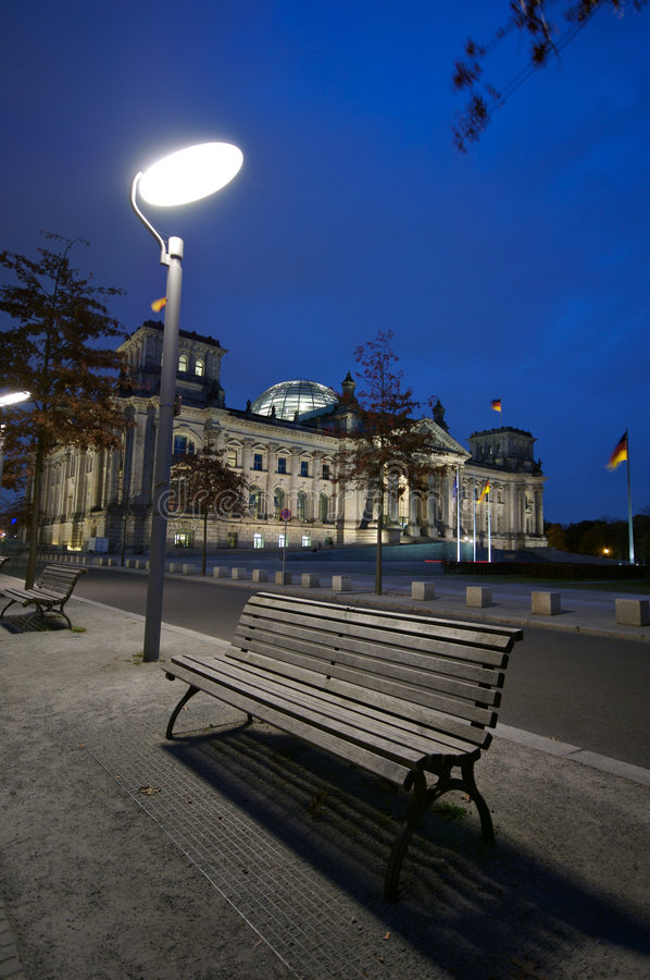 reichstag парламента berlin стоковое фото rf