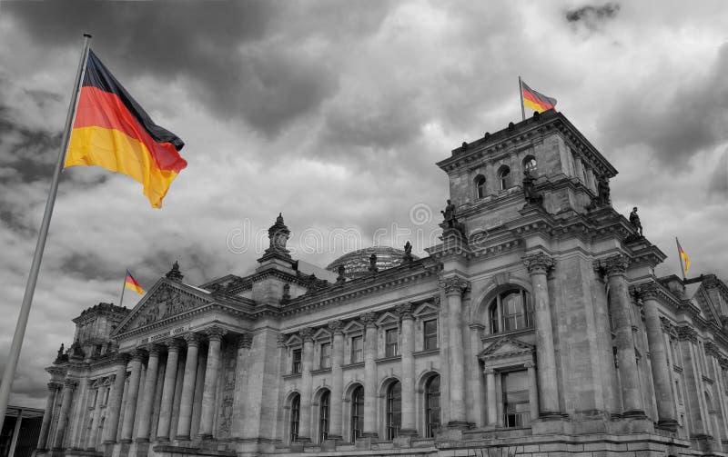 Reichstag. foto de archivo libre de regalías