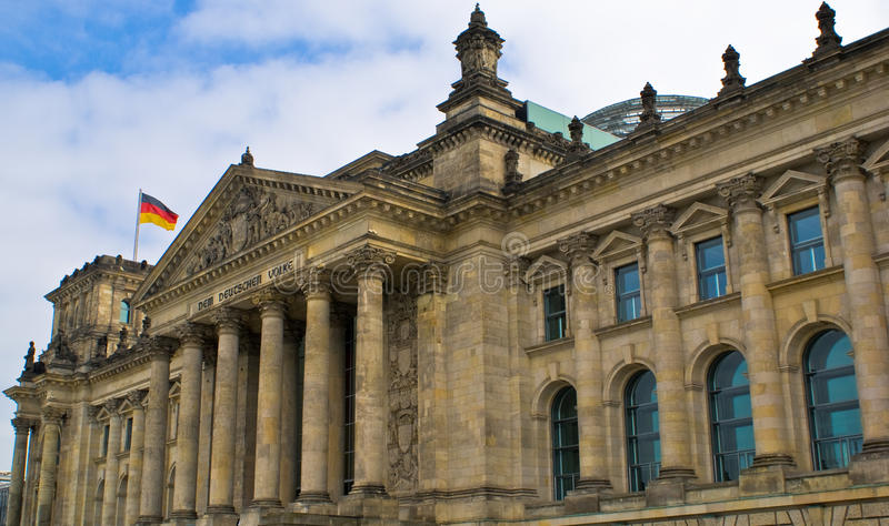 Reichstag images stock