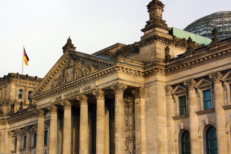 Reichstag 免版税库存照片