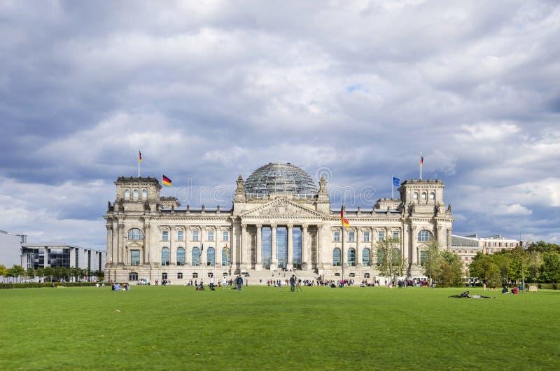 Reichstag fotos de archivo