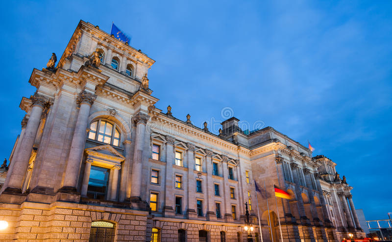 Reichstag imágenes de archivo libres de regalías
