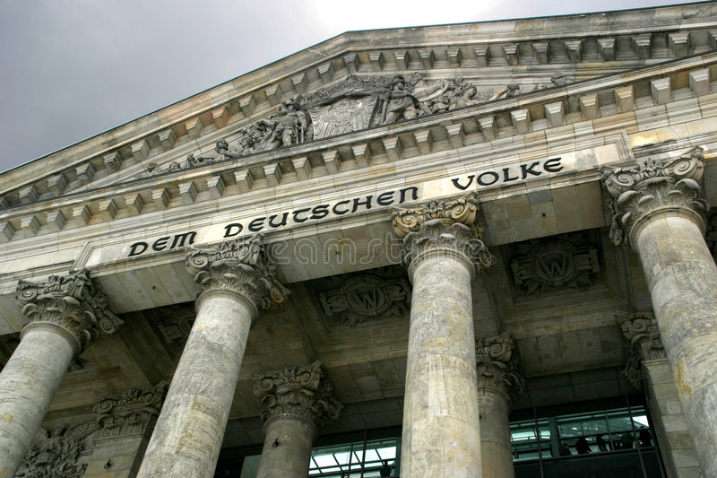 Reichstag Royalty-vrije Stock Afbeelding