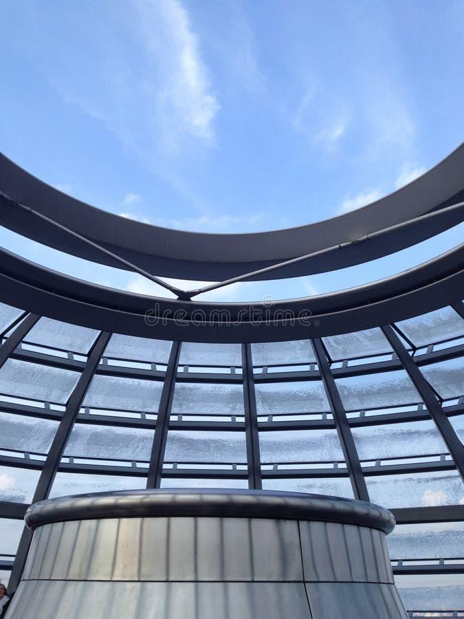 Reichstag arkitektur arkivbild