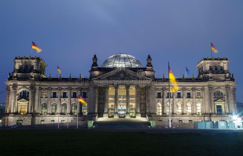 Reichstag Berlín fotografía de archivo libre de regalías