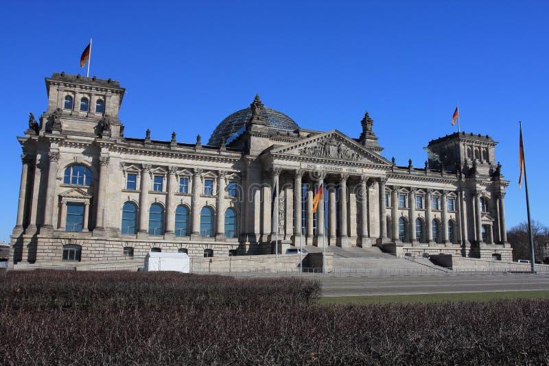 Reichstag Berl?n Alemania fotografía de archivo libre de regalías