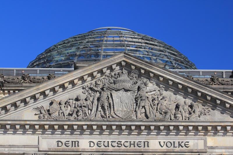 Reichstag Berl?n Alemania fotos de archivo libres de regalías