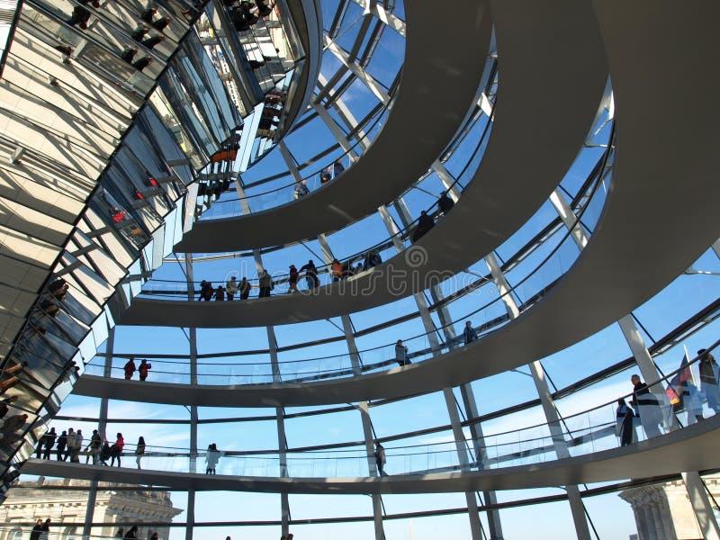 Reichstag, Berlijn stock foto