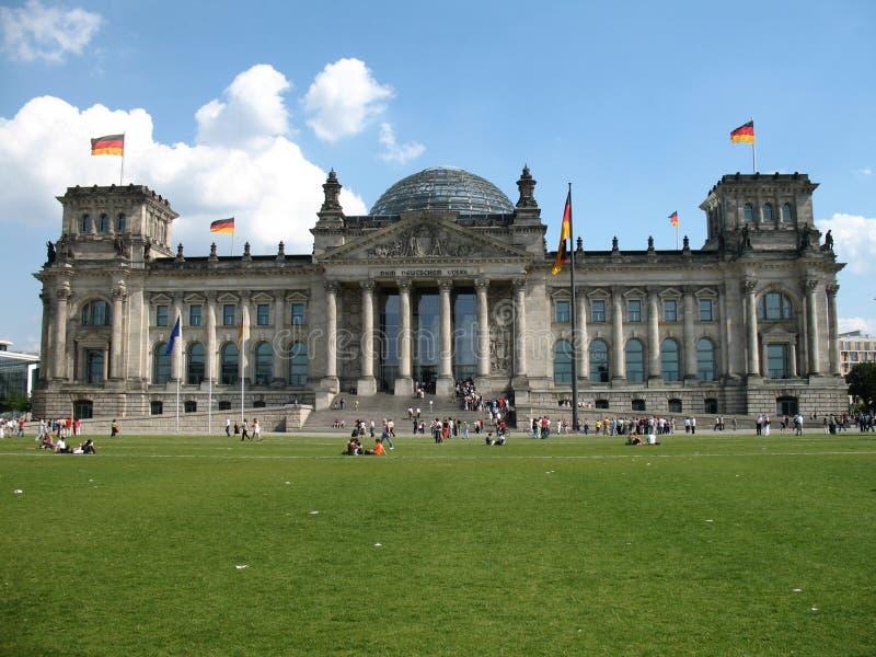 Reichstag Berlijn stock fotografie