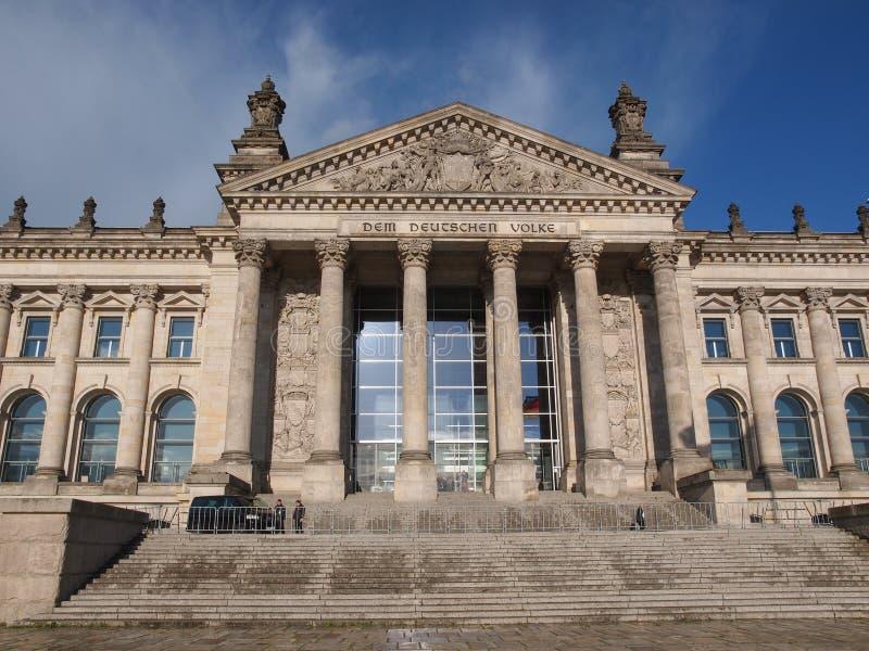 Reichstag in Berlijn stock afbeeldingen