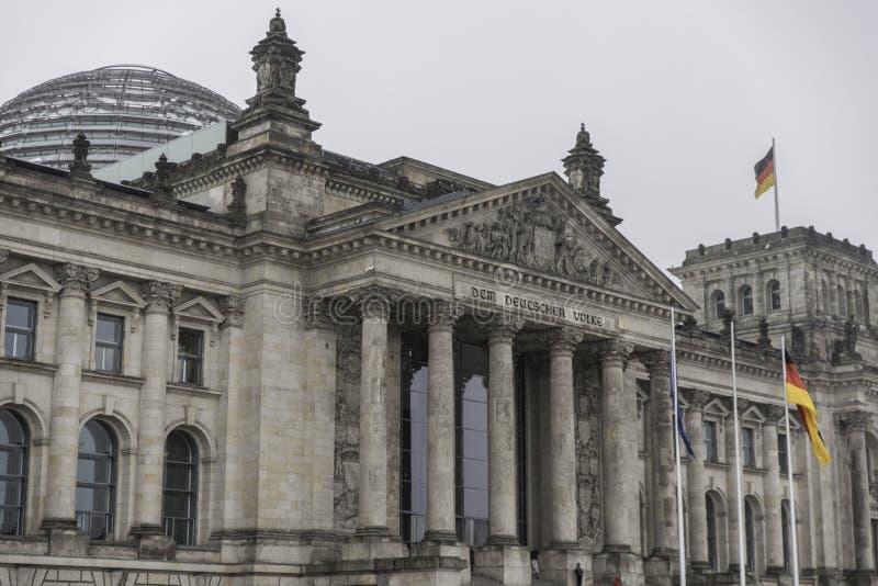 Reichstag in Berlijn royalty-vrije stock foto