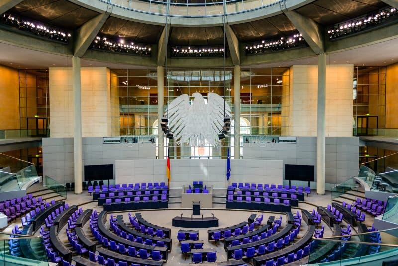 Reichstag Berlijn, Duitsland royalty-vrije stock foto