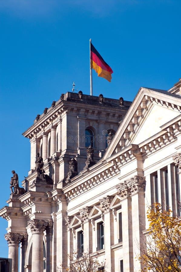 Reichstag Berlim imagens de stock